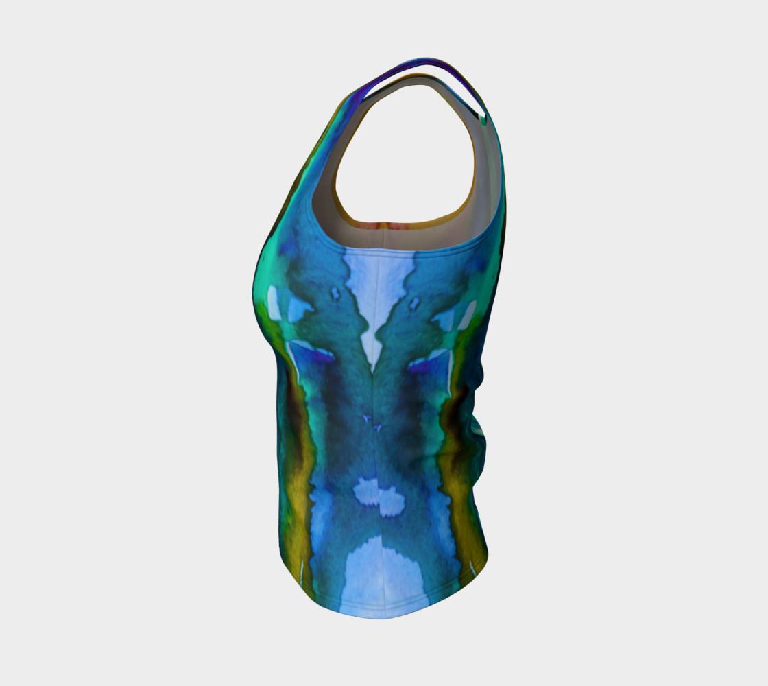 Watercolor Fashion Tank preview #3