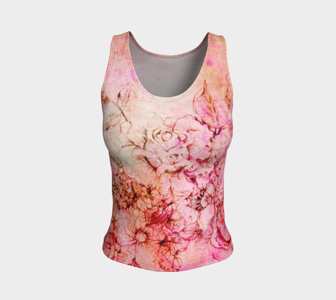 Aperçu de Abstract Flowering Pink #1