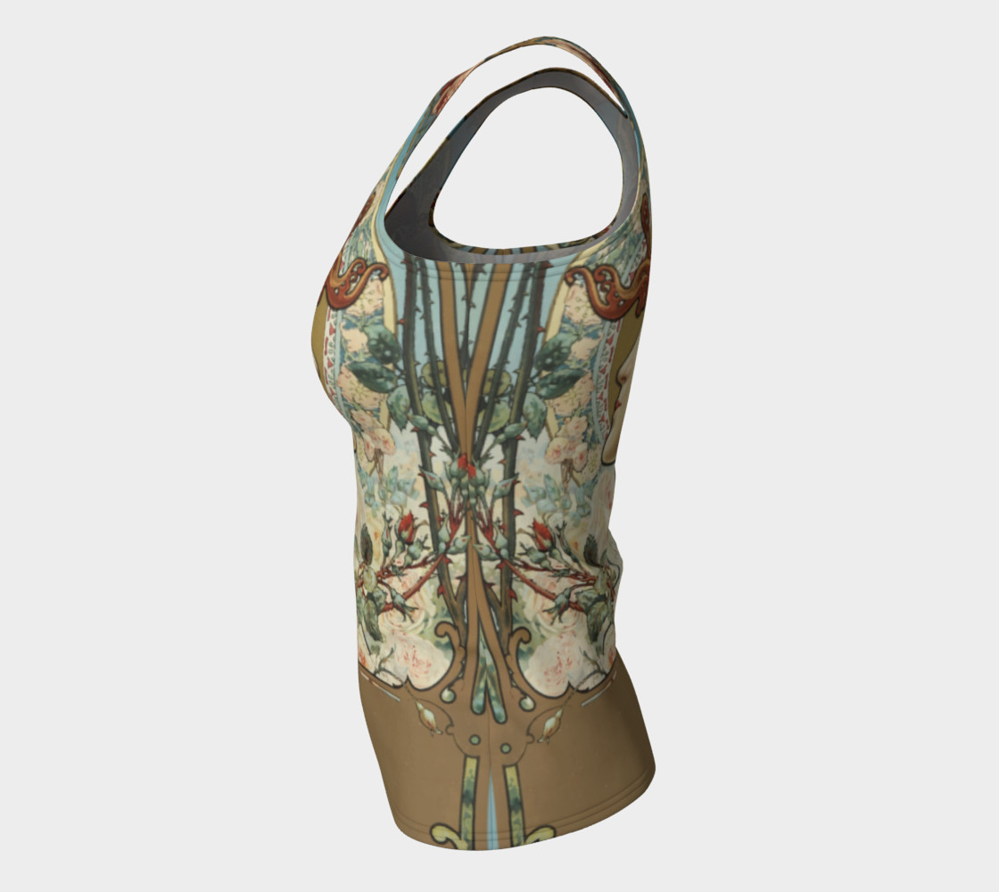 Charpentier-Deny Rose Lady Fitted Tank Top preview #7