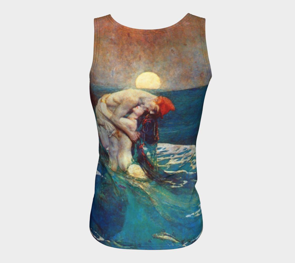 Aperçu de Pyle Mermaid - Fitted Tank Top #6