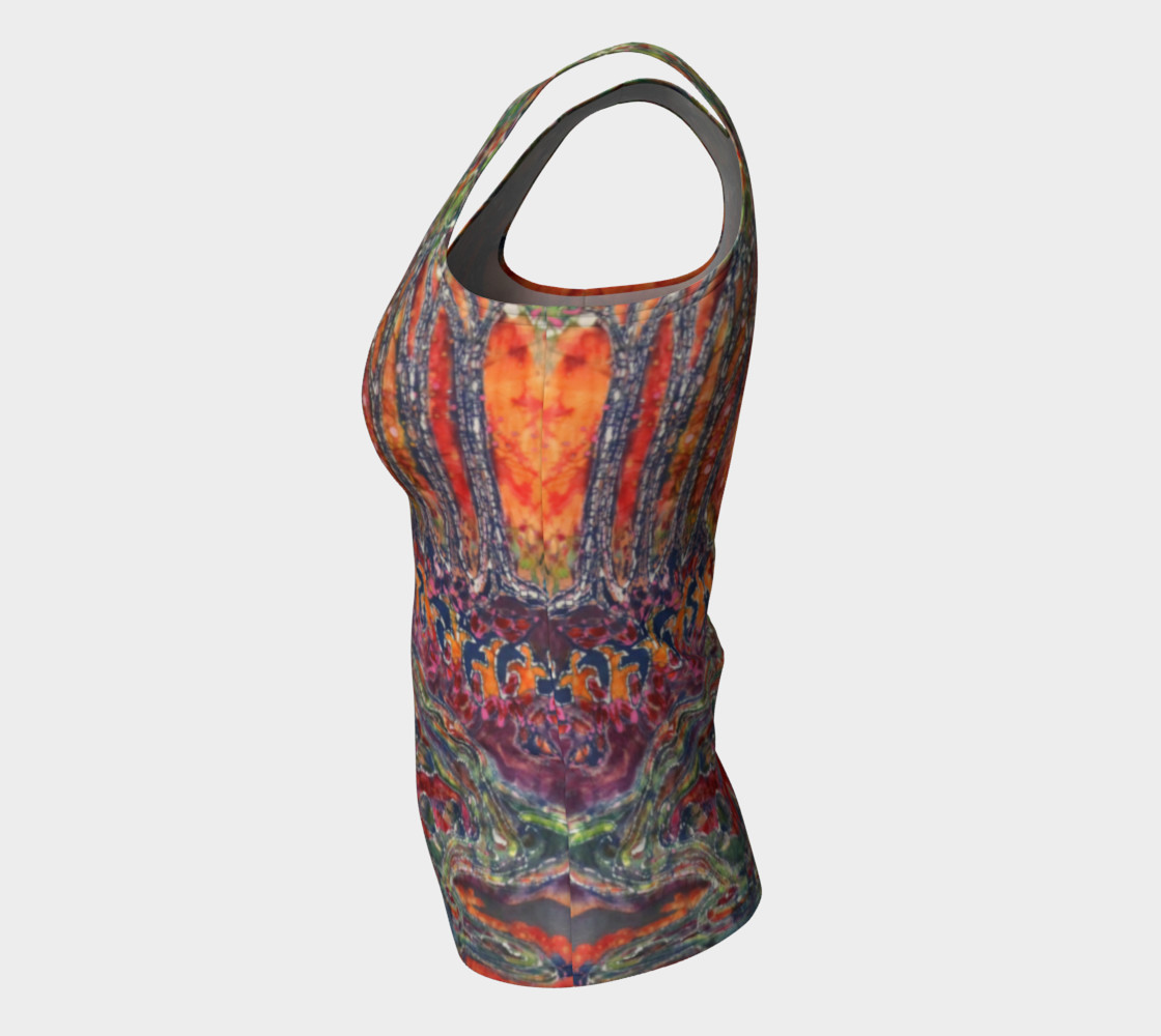 Awaken Fitted Tank Top preview #7