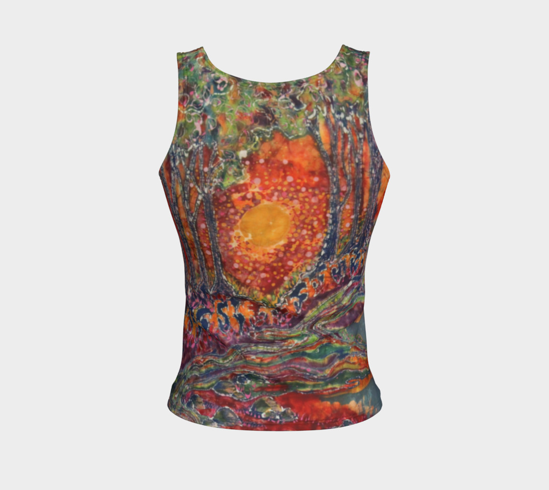 Awaken Fitted Tank Top preview #2