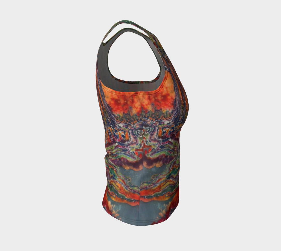 Awaken Fitted Tank Top preview #4