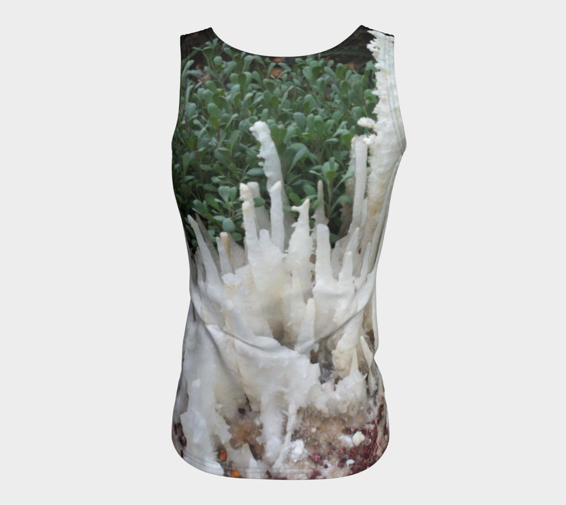 Crystal stones on Fitted Tank Top preview #6
