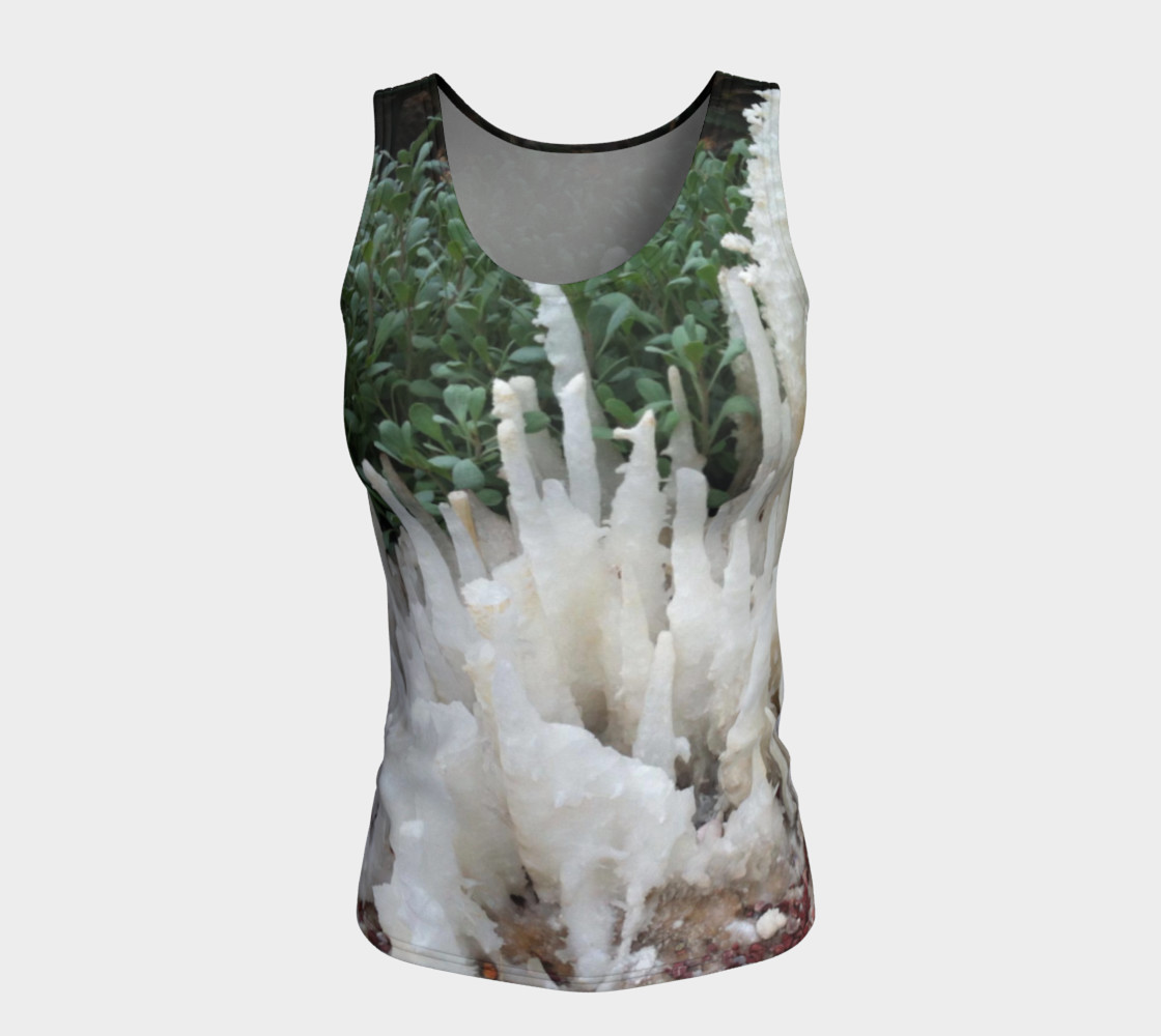 Crystal stones on Fitted Tank Top preview #5