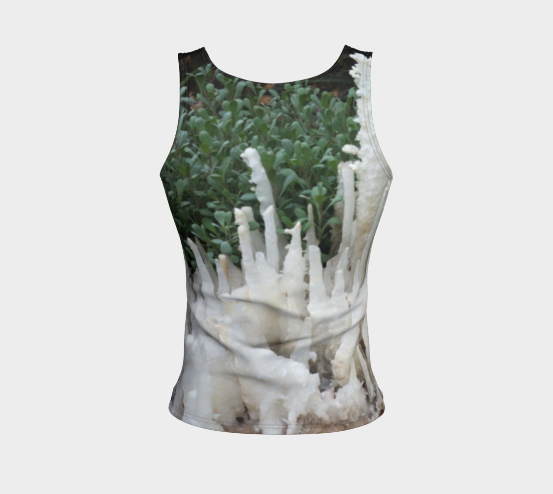 Crystal stones on Fitted Tank Top preview #2