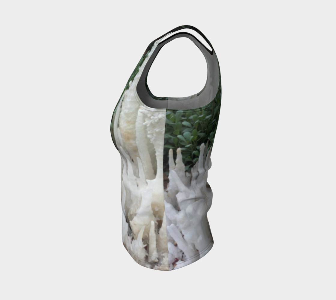 Crystal stones on Fitted Tank Top preview #3