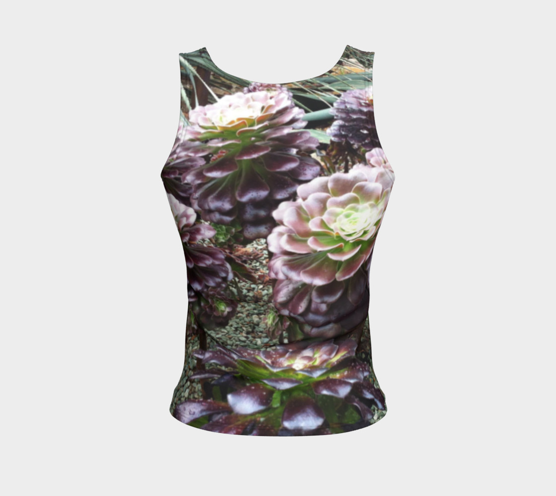 Beautiful Nature, Fitted Tank  preview #2