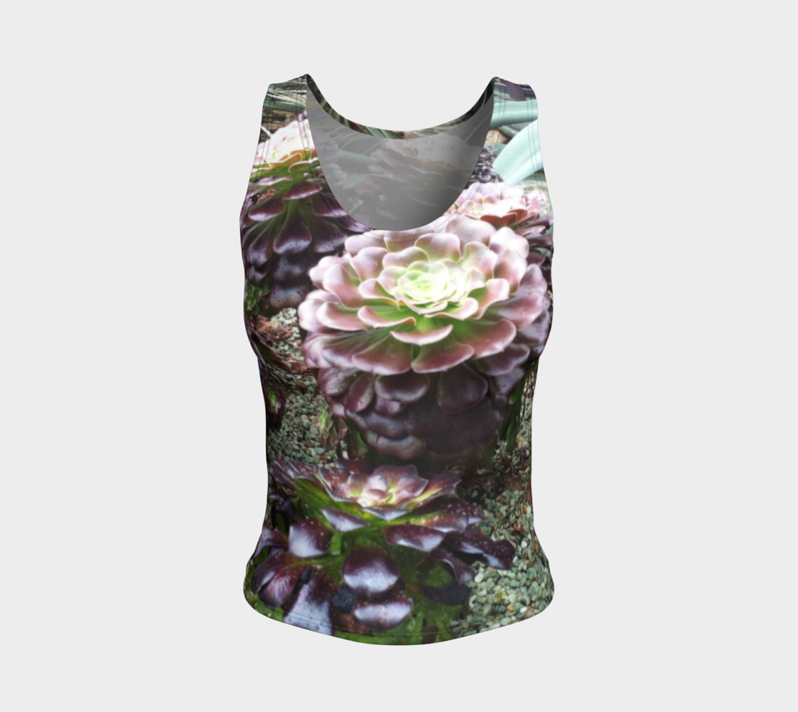 Beautiful Nature, Fitted Tank  preview #1
