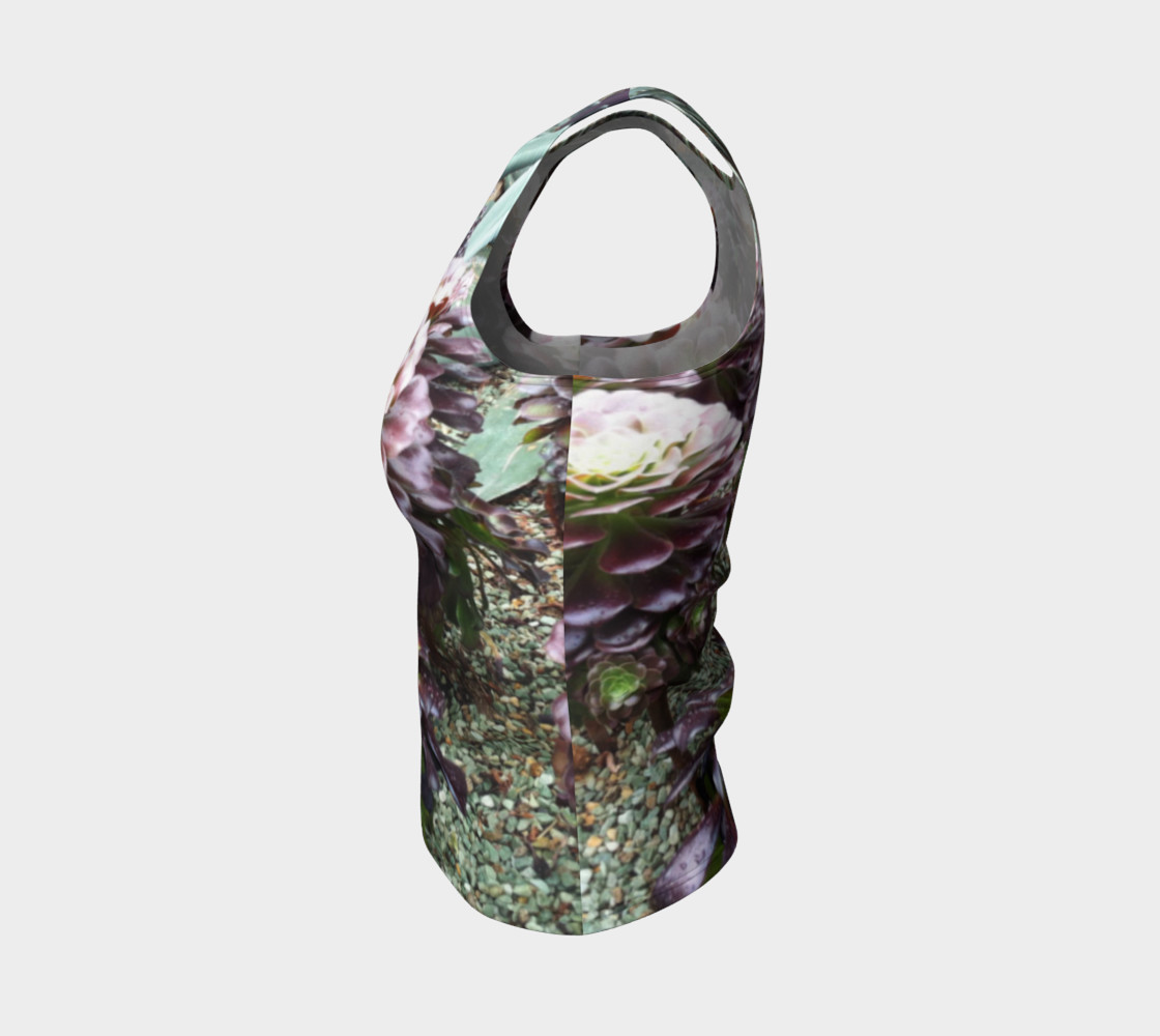 Beautiful Nature, Fitted Tank  preview #3