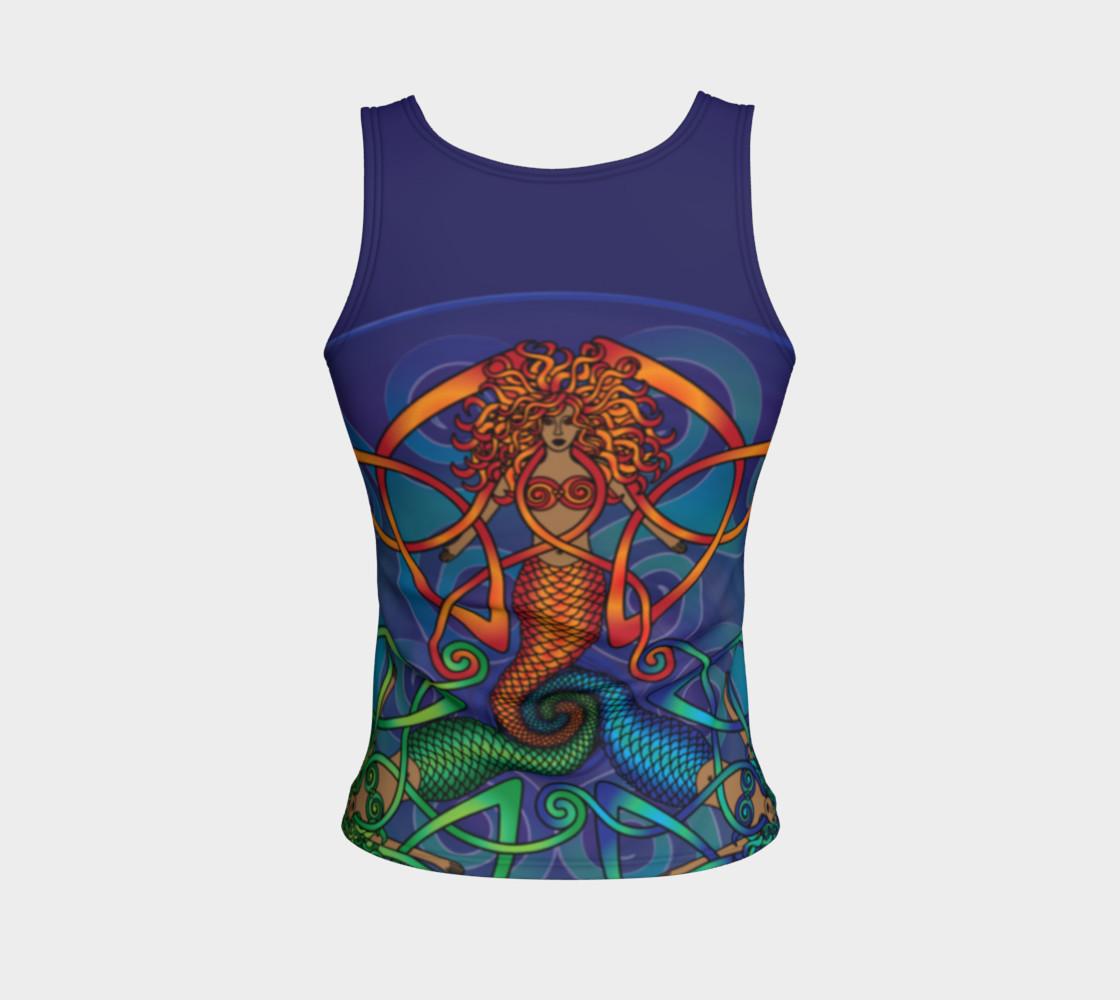 Celtic Mermaid Mandala preview #2