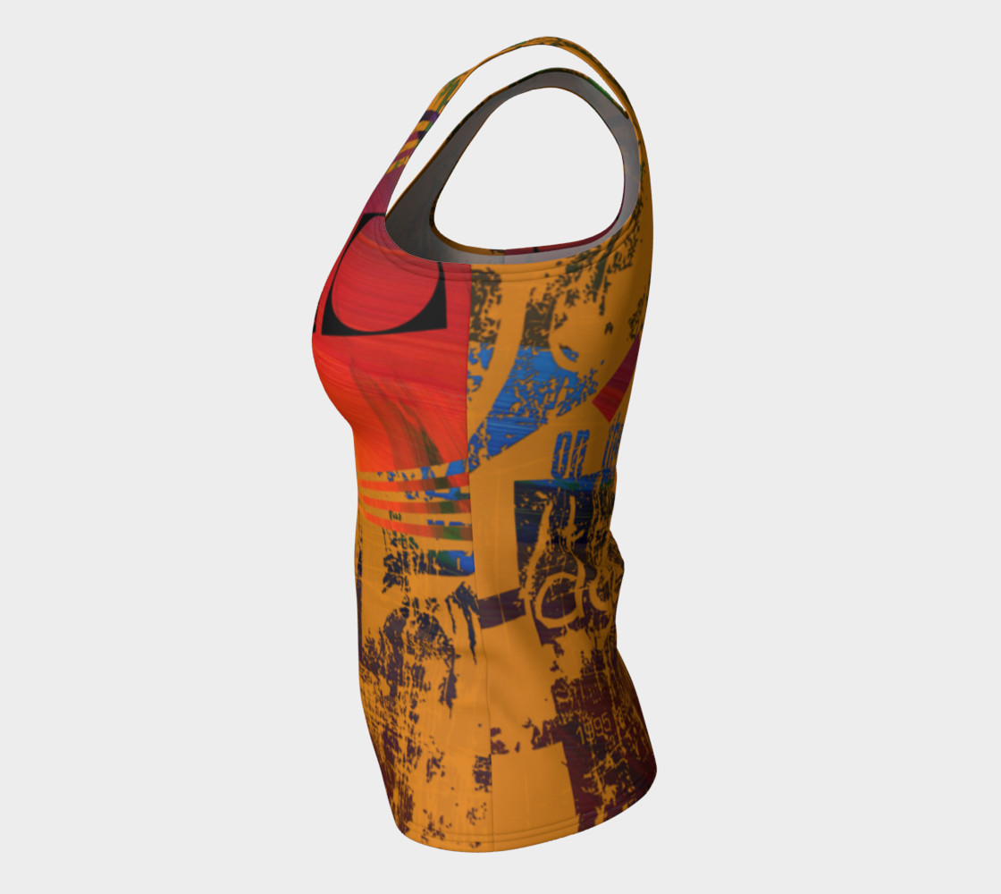 Avant-Garde Fitted Tank Top preview #7