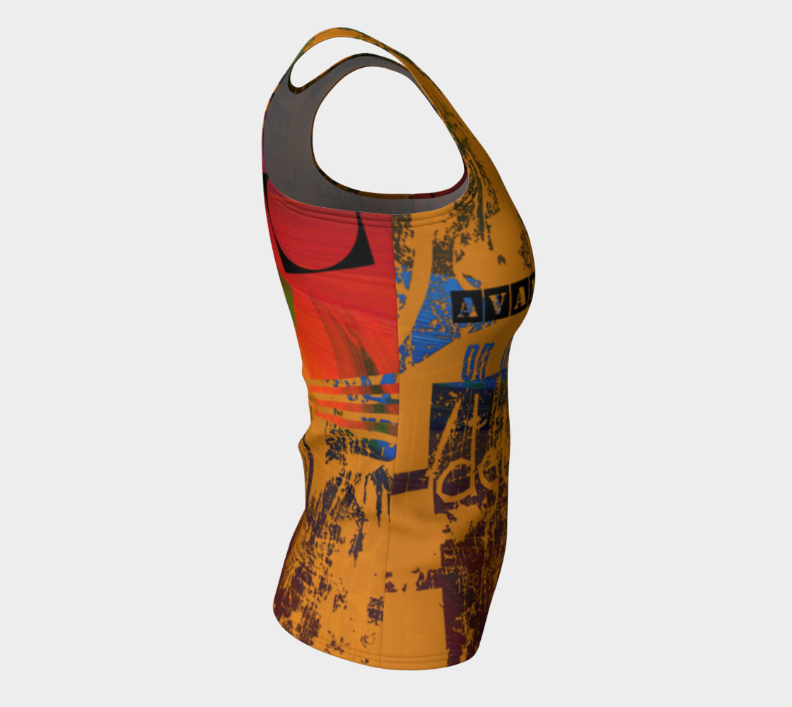 Avant-Garde Fitted Tank Top preview #8