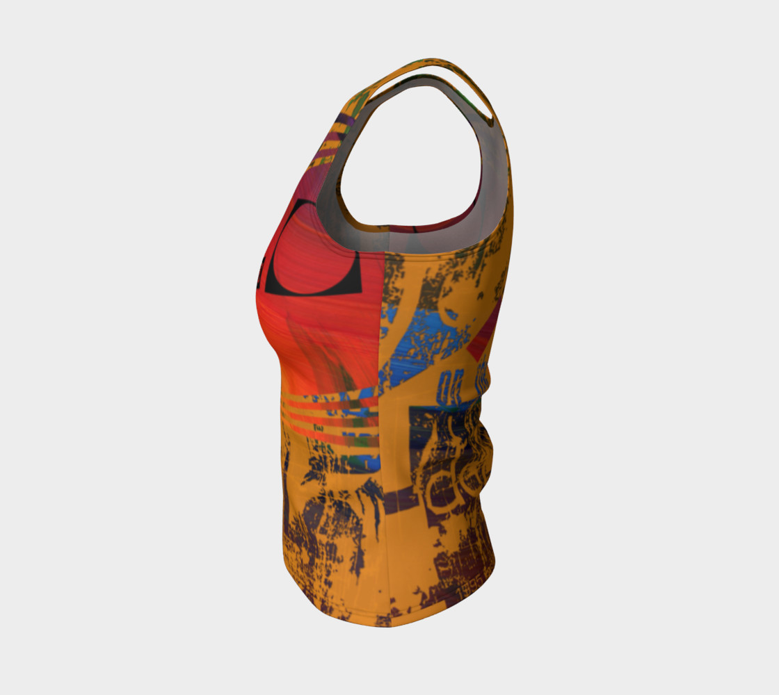 Avant-Garde Fitted Tank Top preview #3