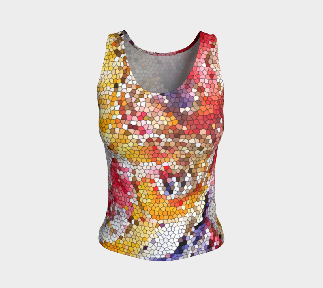 Prosperity Tree Loose Tank Top preview #1