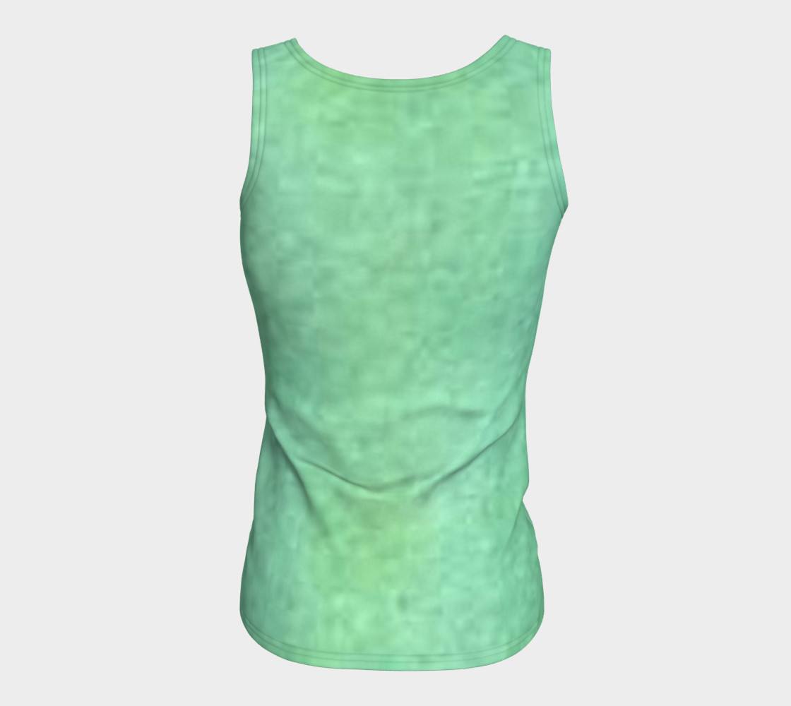 Aperçu de Peaceful Fitted Tank Top #6