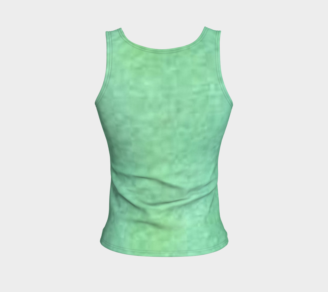 Peaceful Fitted Tank Top preview #2