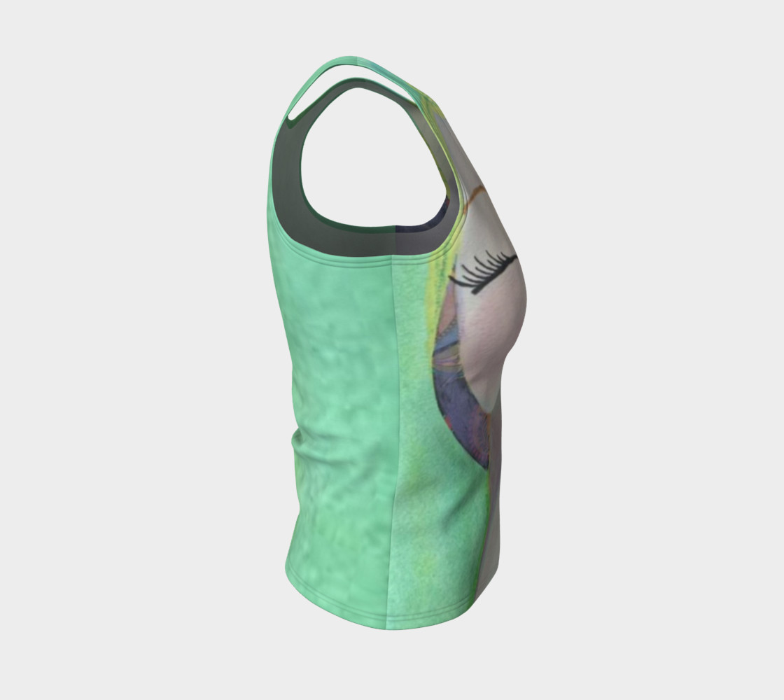 Peaceful Fitted Tank Top preview #4