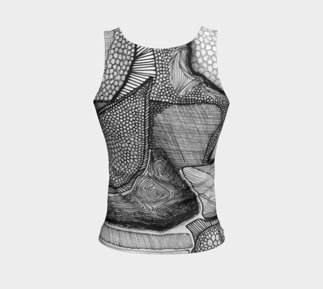 Aperçu de Our Thoughts Fitted Tank Top #2