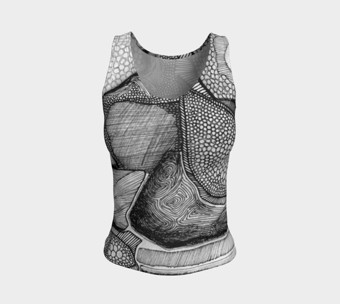 Aperçu de Our Thoughts Fitted Tank Top #1