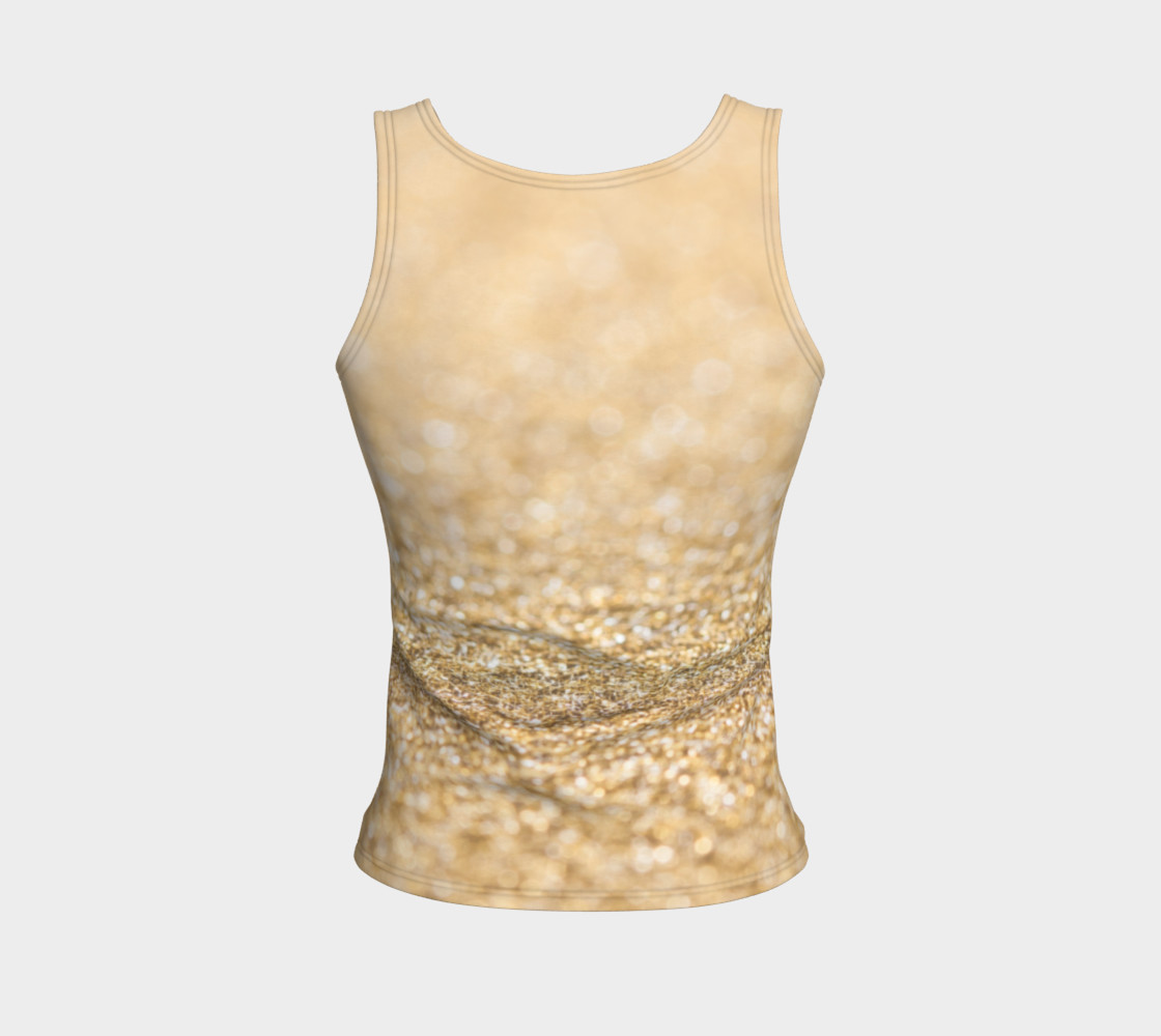 Beautiful champagne gold glitter sparkles preview #2