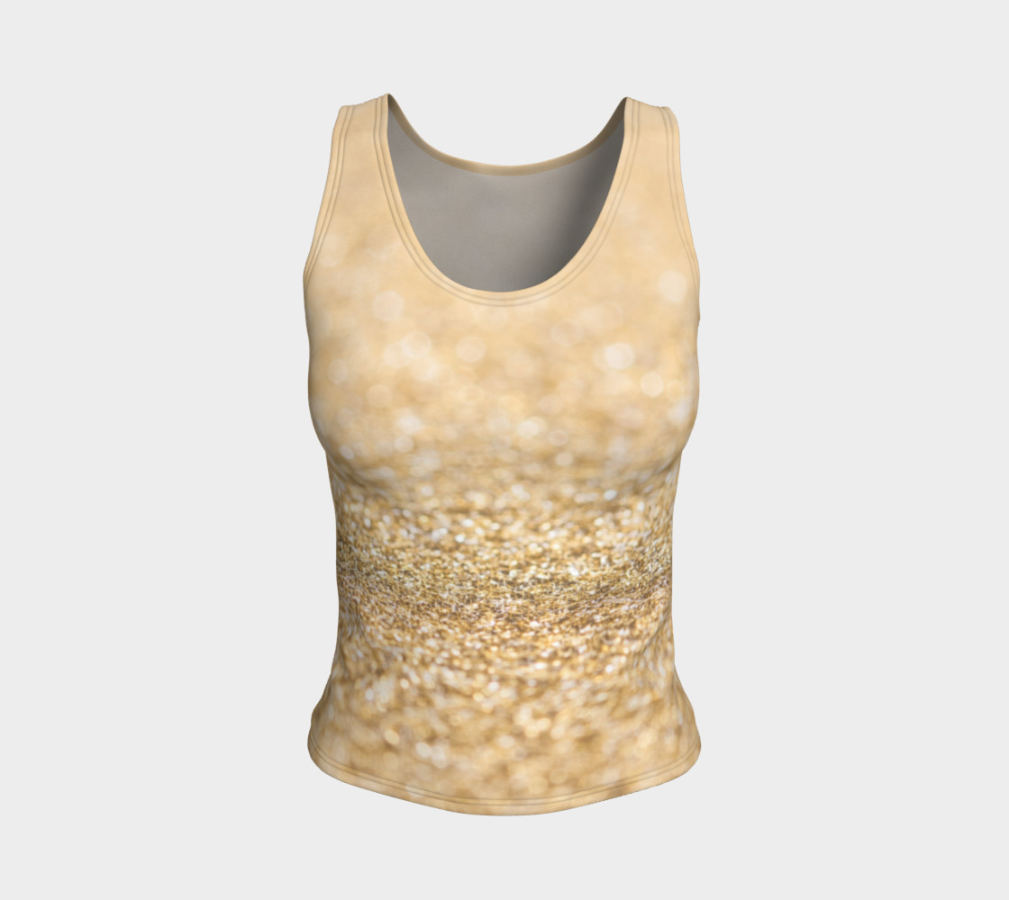 Beautiful champagne gold glitter sparkles preview #1