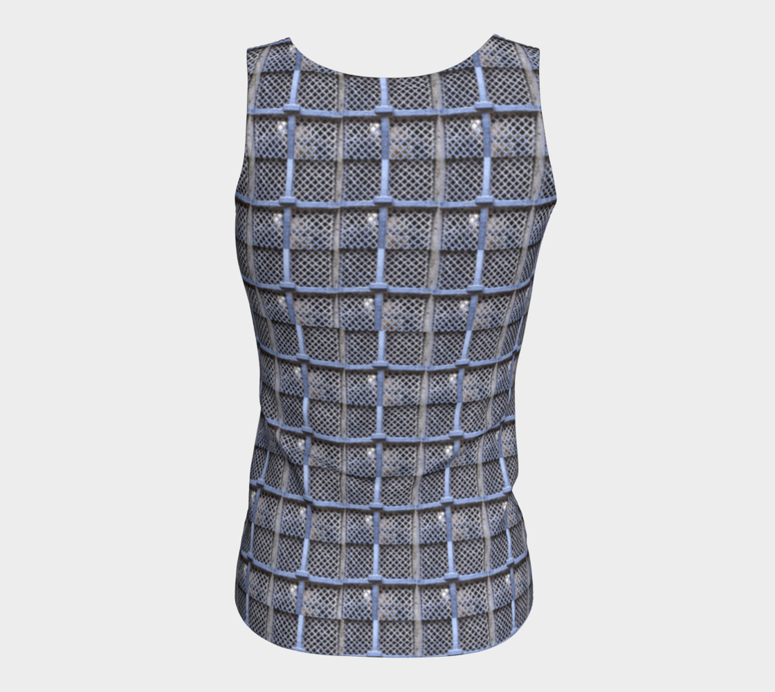 Medieval Grate Fitted Tank Top preview #6