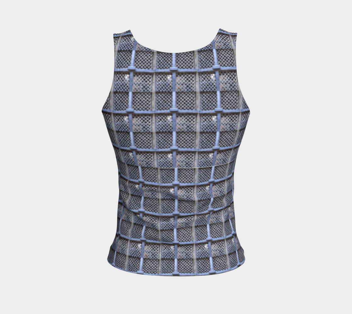 Medieval Grate Fitted Tank Top preview #2