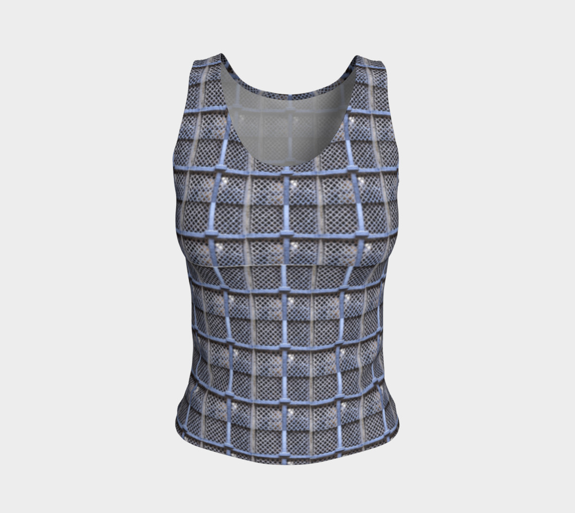 Medieval Grate Fitted Tank Top preview #1