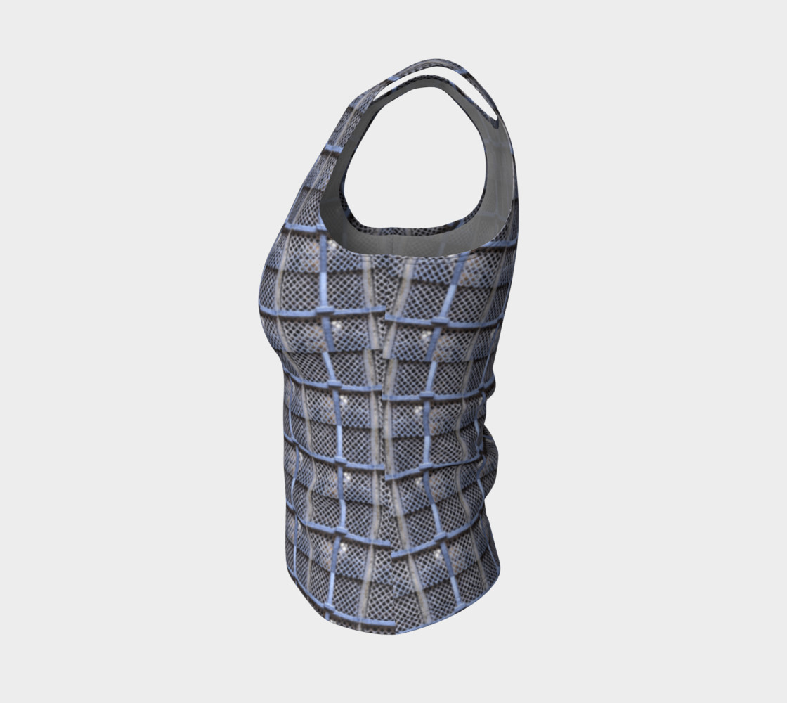 Medieval Grate Fitted Tank Top preview #3