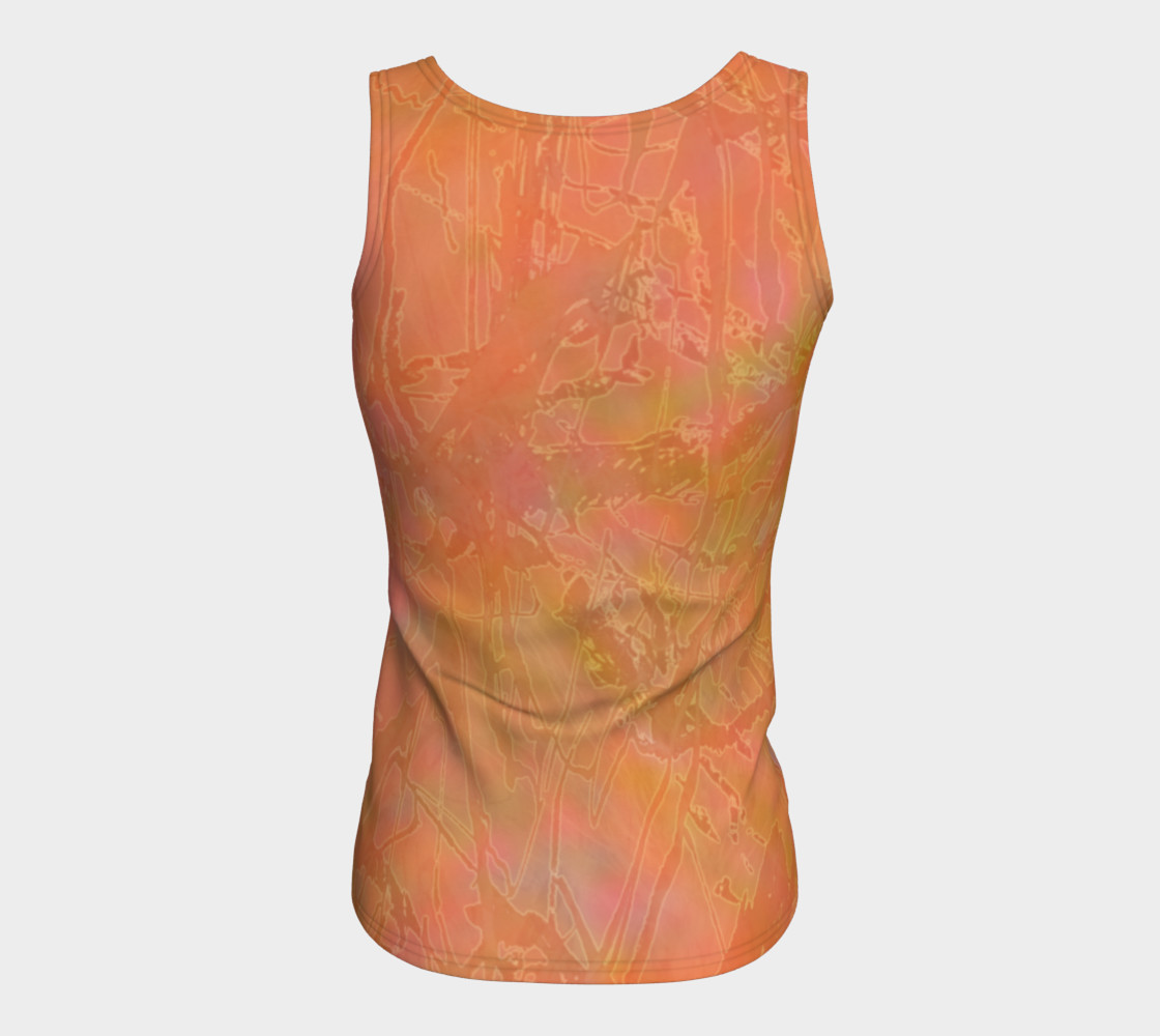 Orange Sherbet Fitted Tank preview #6