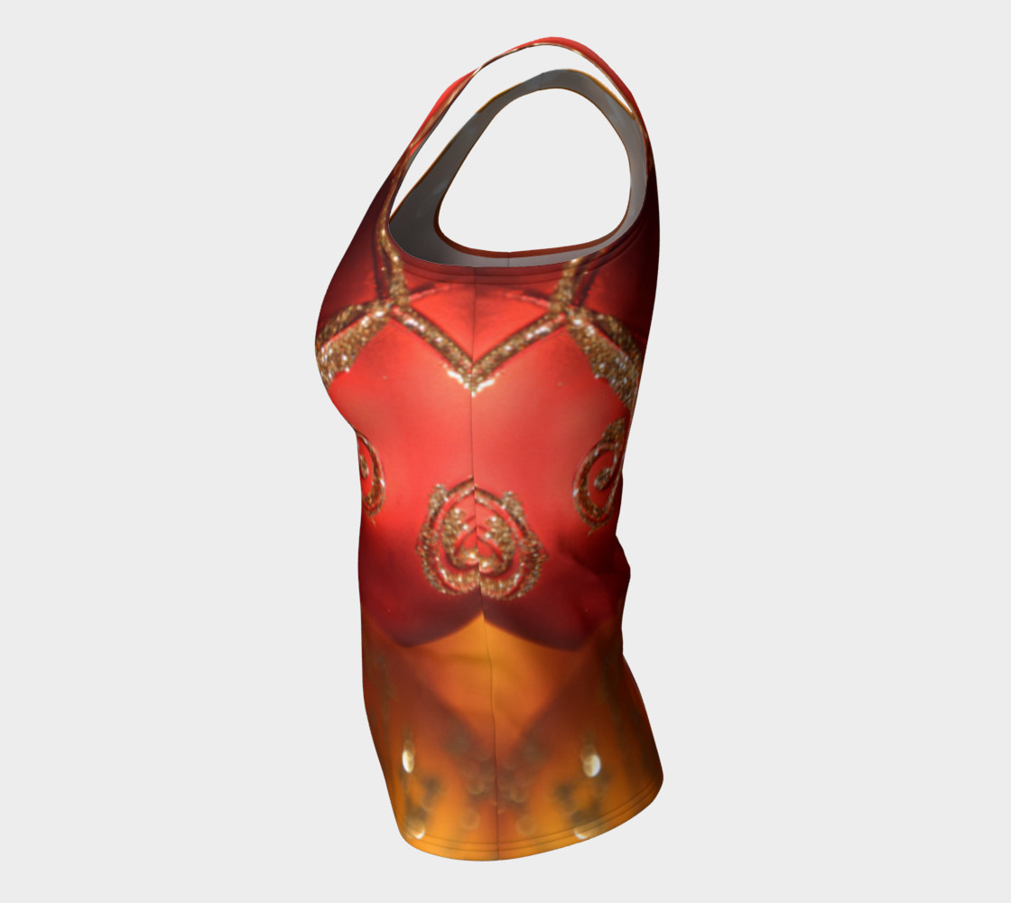 Christmas Bulb Fitted Tank Top preview #7