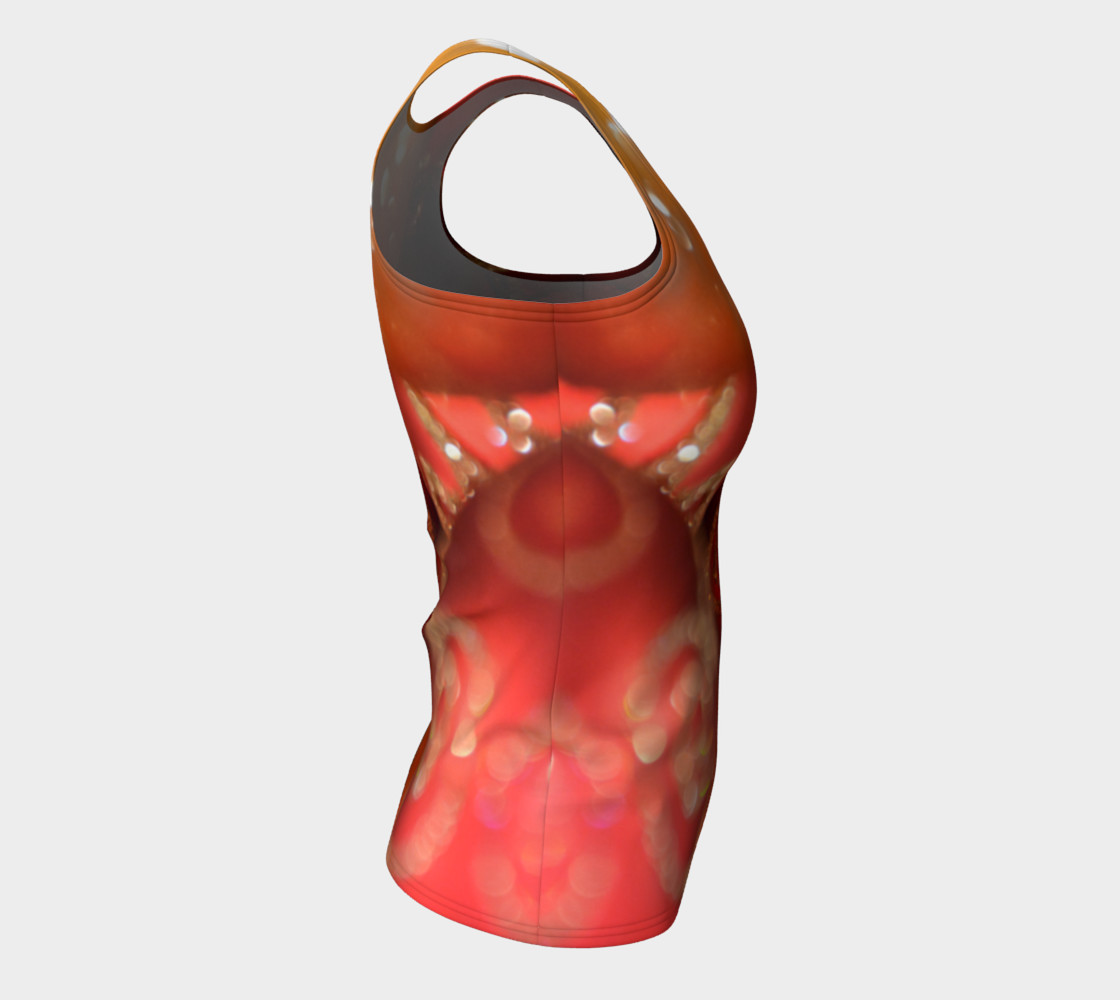 Christmas Bulb Fitted Tank Top preview #8