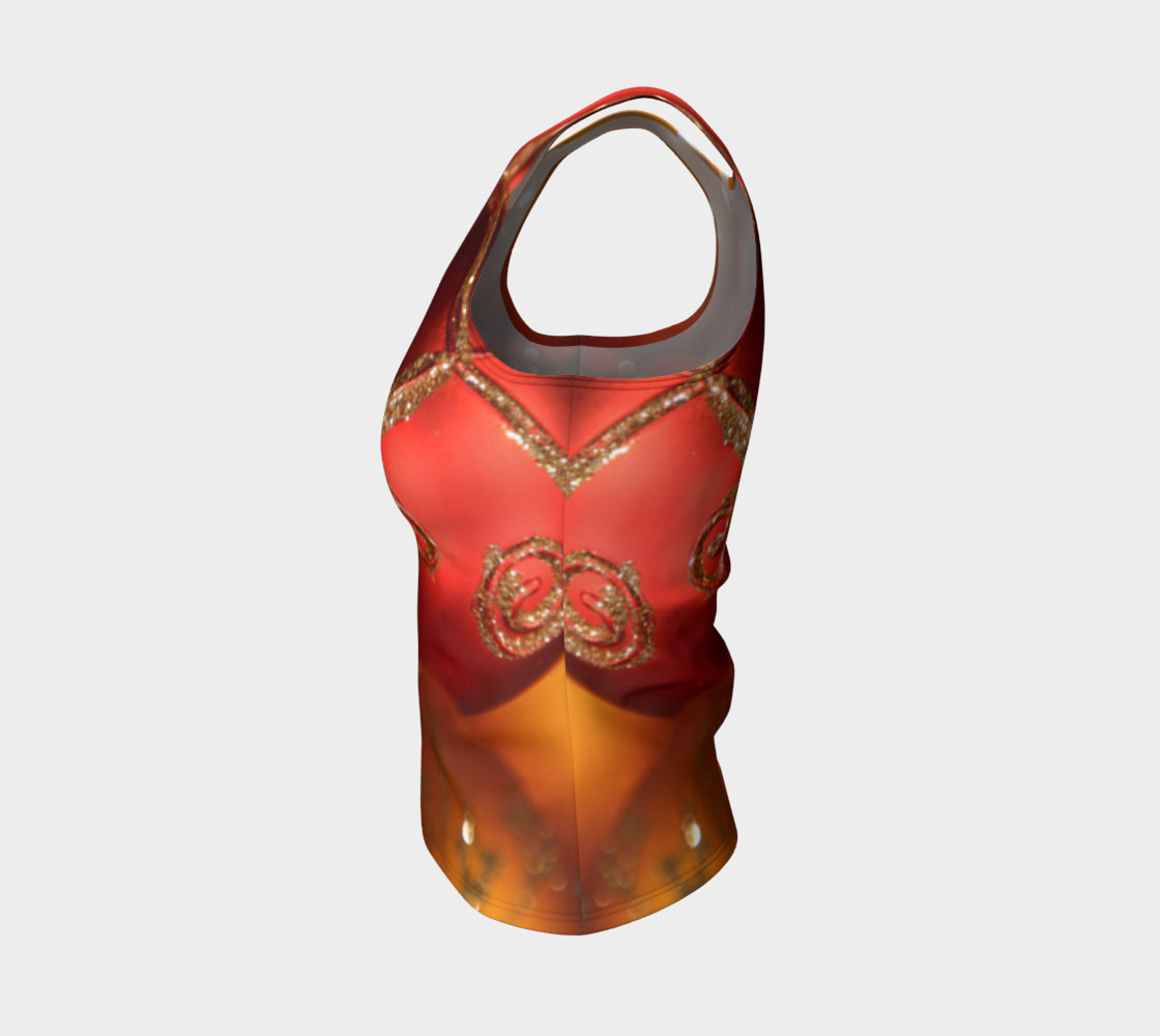 Christmas Bulb Fitted Tank Top preview #3