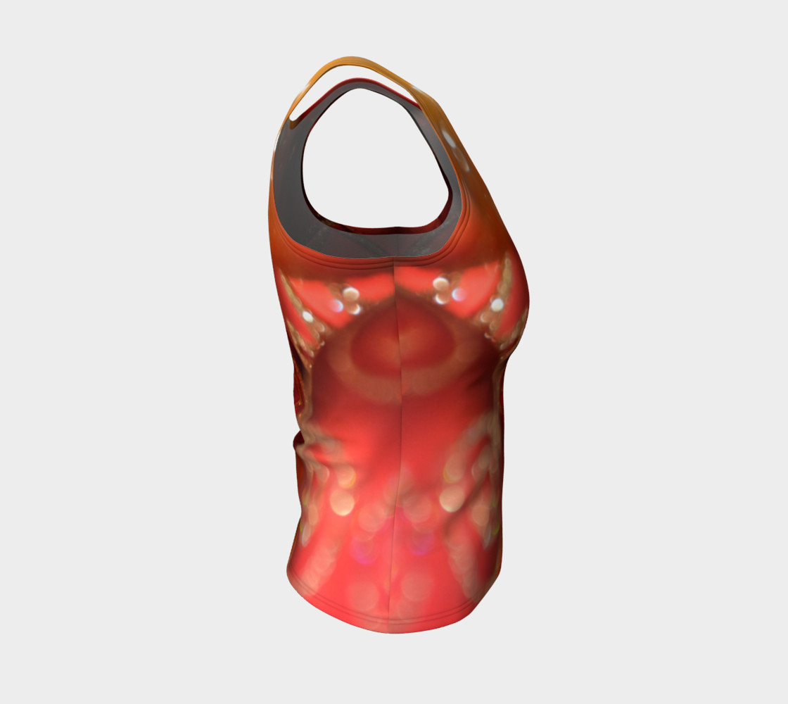 Christmas Bulb Fitted Tank Top preview #4