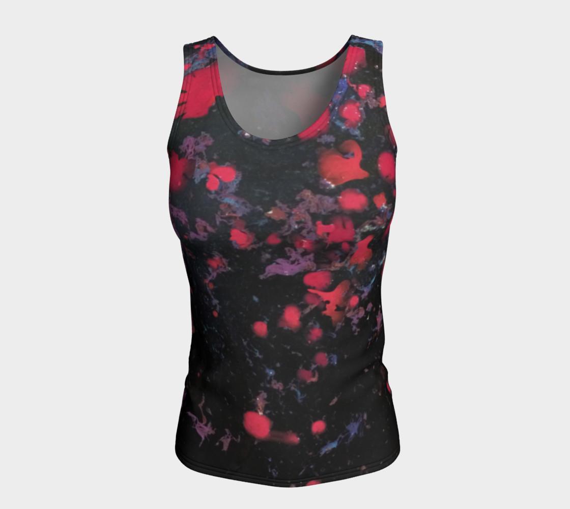 Aperçu de Hot Pink Flowers in Water Tank #5