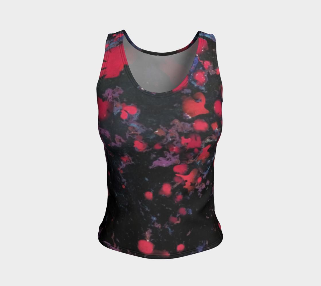 Aperçu de Hot Pink Flowers in Water Tank #1
