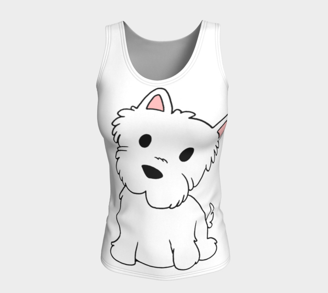 Aperçu de West Highland White Terrier Cartoon #5
