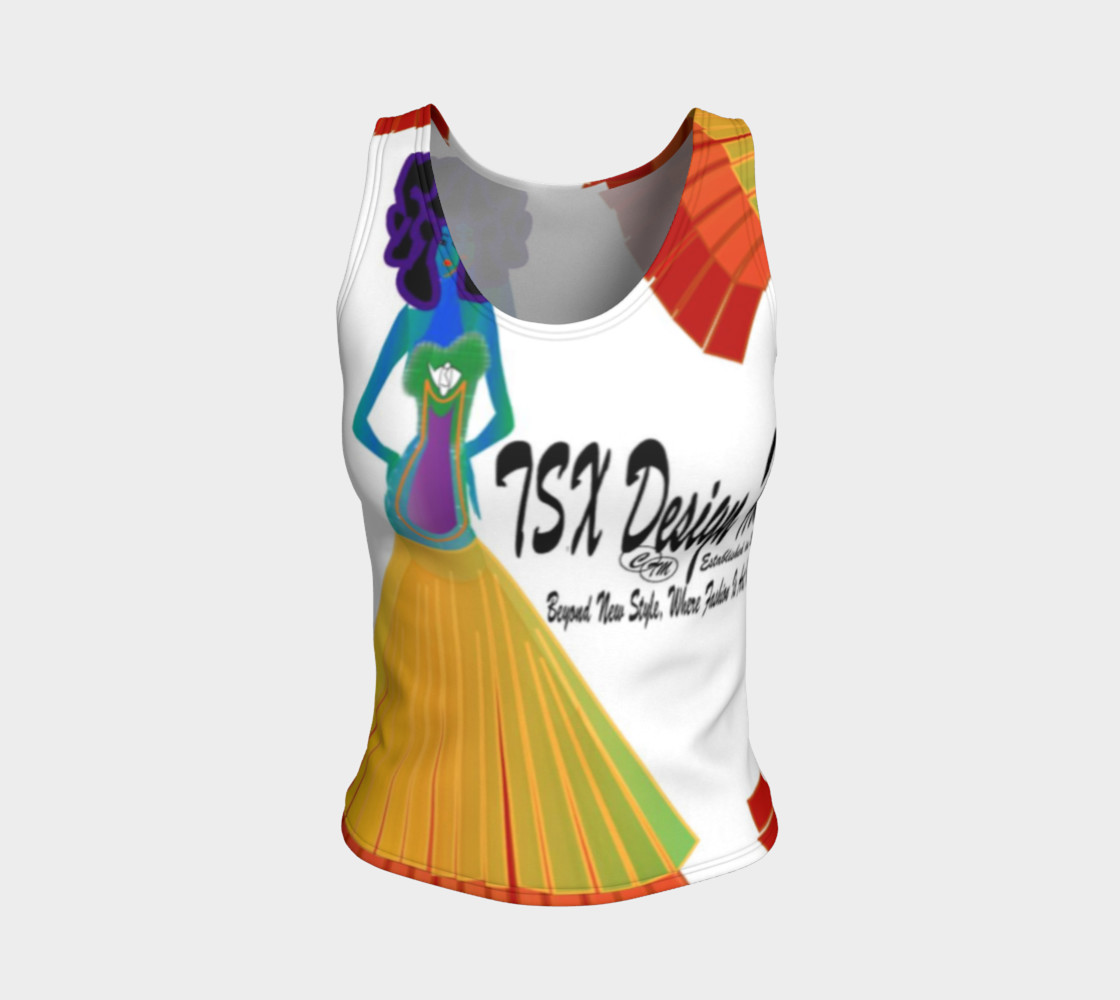 Aperçu de TSX Design House  Logo fitted tank top #1