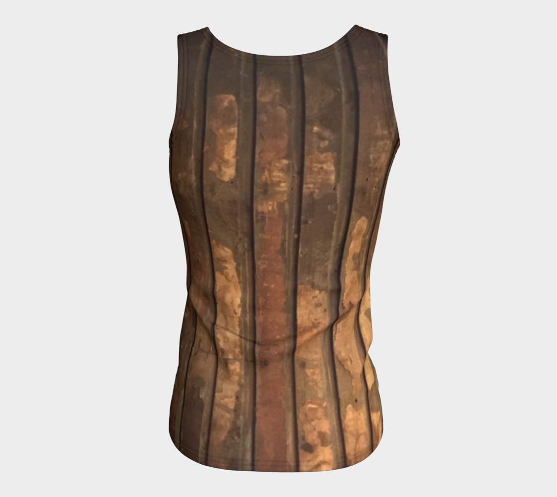 Plank Floor Fitted Tank $28 preview #6