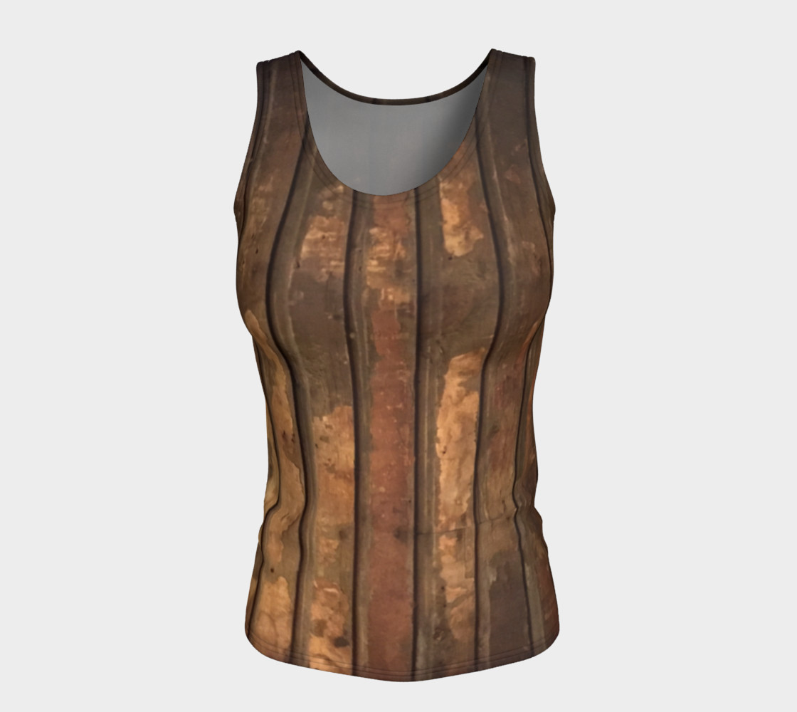 Plank Floor Fitted Tank $28 preview #5