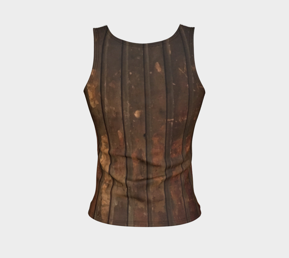 Plank Floor Fitted Tank $28 preview #2