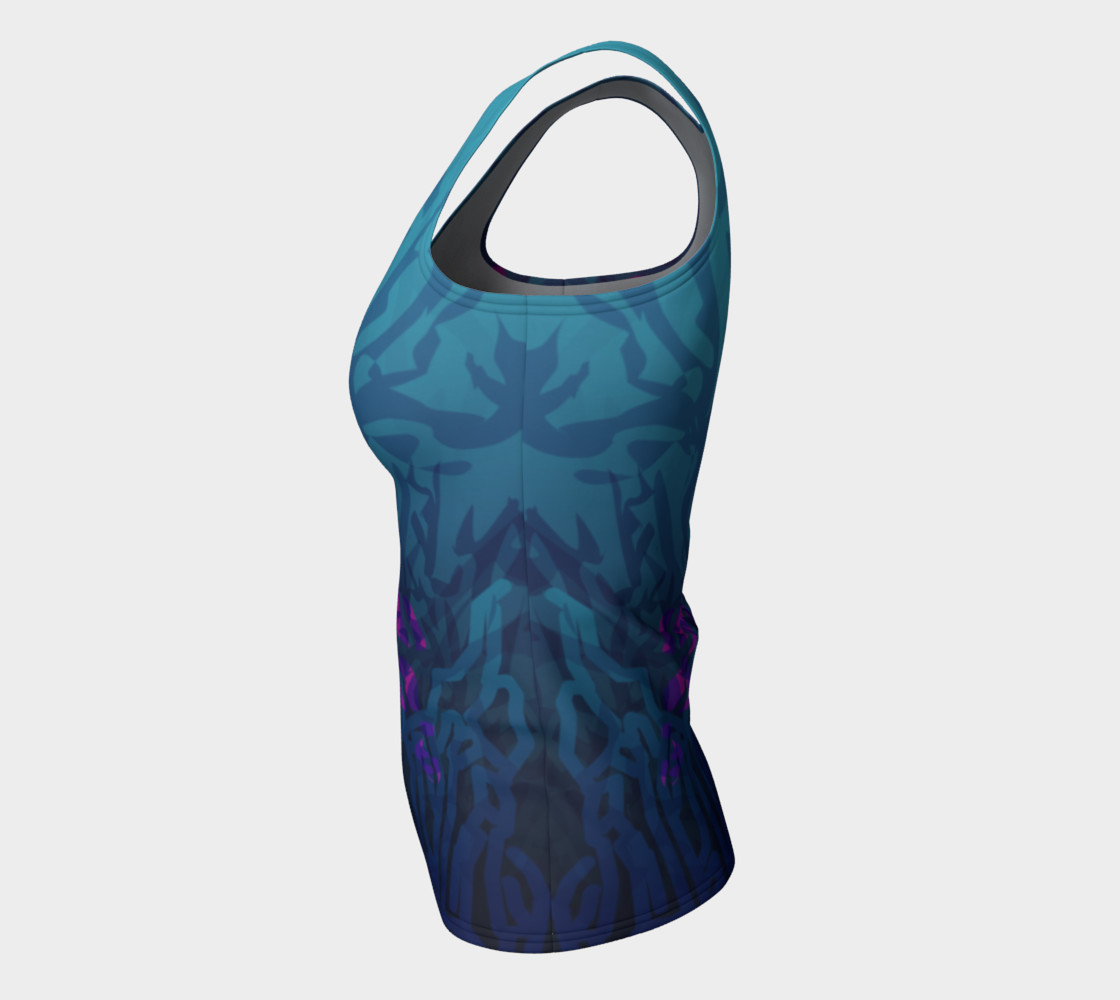 Mermaid Fitted Tank preview #7