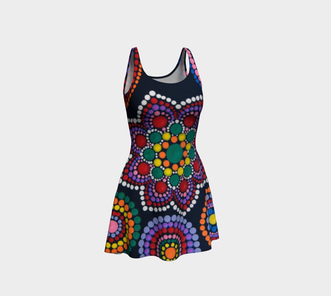 BlinkitArt Star Flare Dress preview #1