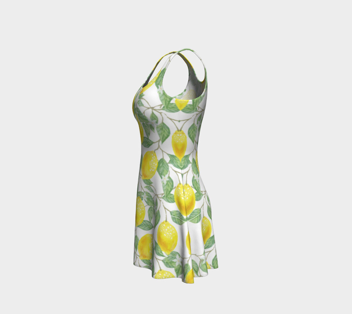 Life gives You Lemons Flare Dress preview #2