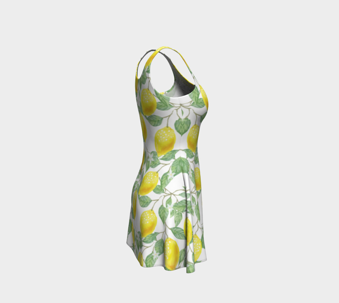 Life gives You Lemons Flare Dress preview #4