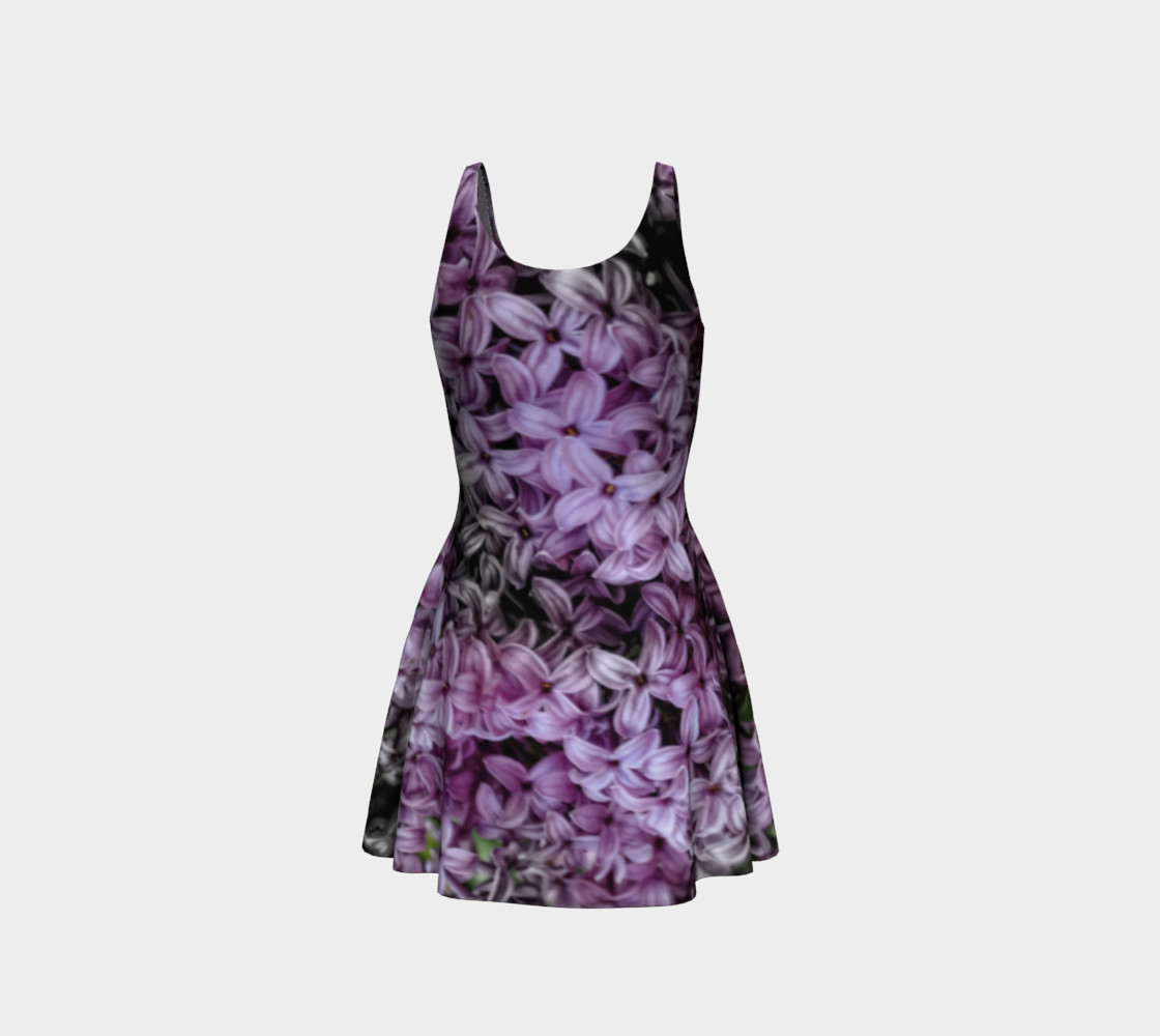Lilacs Flare Dress preview #3