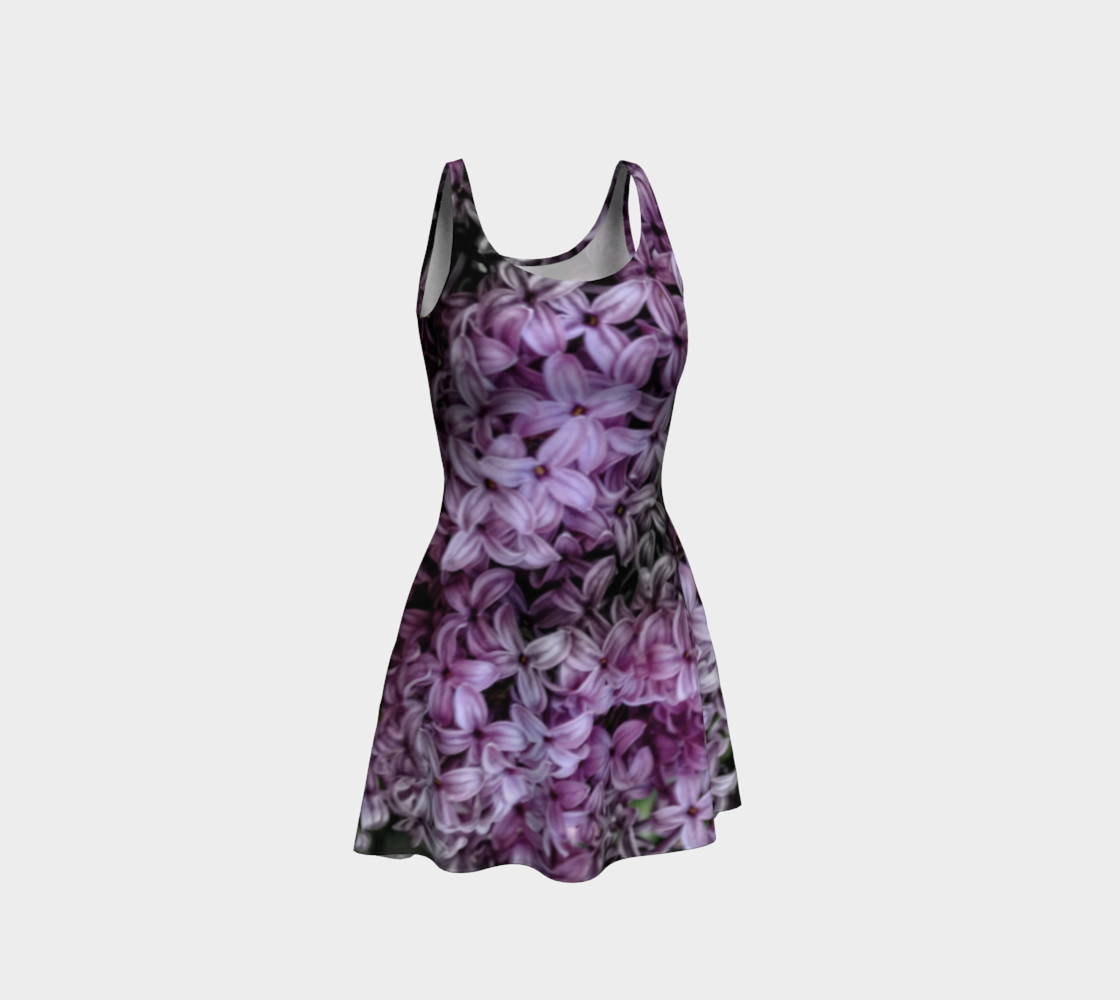 Lilacs Flare Dress preview #1