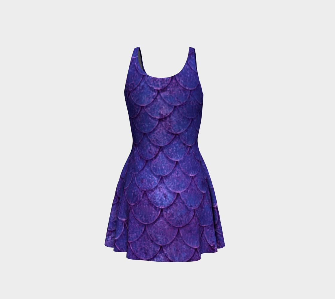 Enchanting Mermaid Scales Dress preview #3
