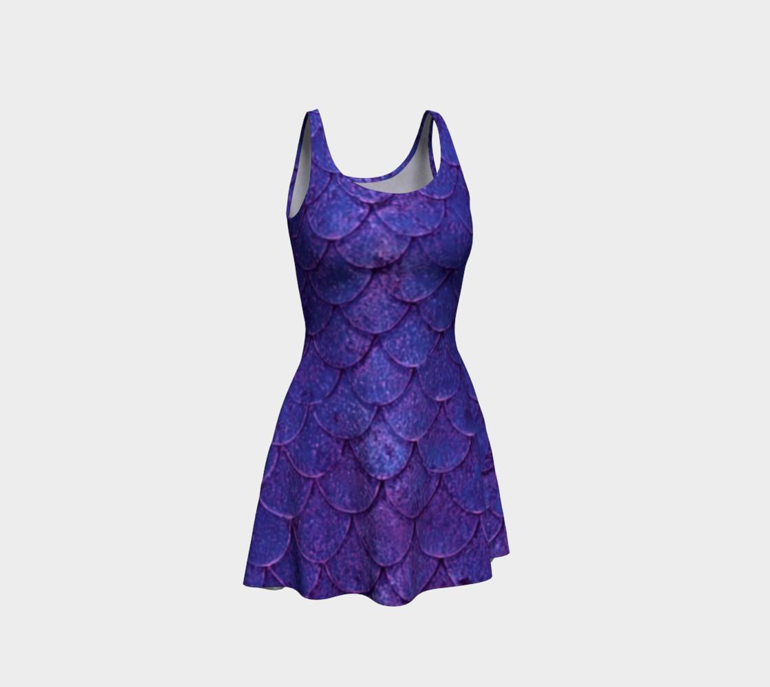 Enchanting Mermaid Scales Dress preview #1